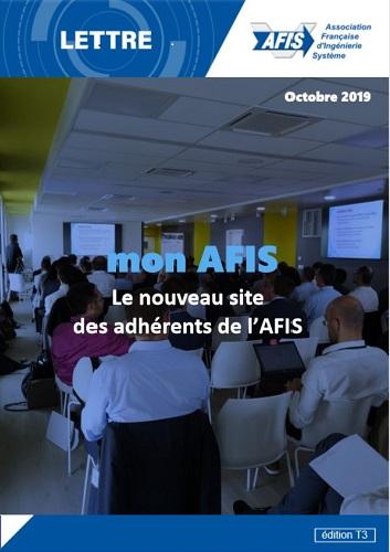 Lettre AFIS Trimestre 3/2019