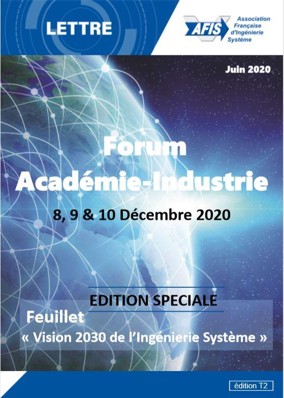 Lettre AFIS - T2/2020 Couverture