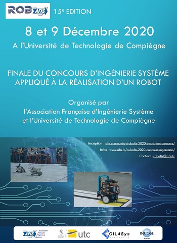 Affiche Finale Concours RobAFIS 2020